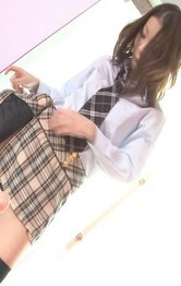 Asian Schoolgirl Mature - Nao Kojima Asian licks dildo and sticks it in her horny nooky