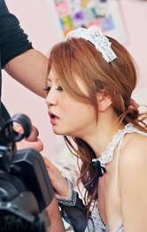 Japanese Schoolgirl Blowjob - Sakamoto Hikari Asian is caught on camera showing nude poonanie