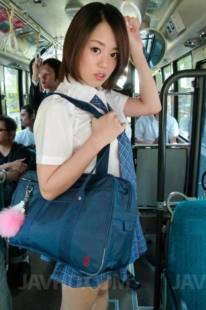 Short Skirt School Girl