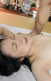 Asian Schoolgirl Feet - Yuri Sakurai is double teamed by shlongs she sucked and licked