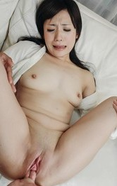Asian School Porn Categories - Tsukushi Asian exposes shaved peach and gets boner deep in it